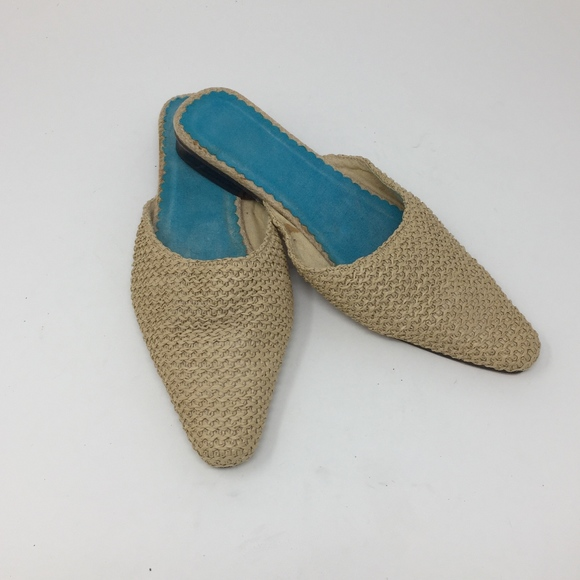 Unbranded Shoes Womens Size 8 Tan Slip-on Flats Men's Clothing